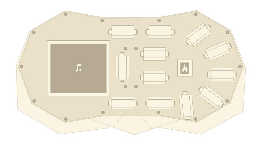 2 Tipi floorplan