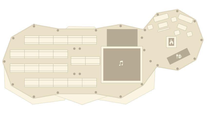 2 Tipi plus Kung floorplan