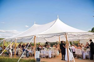 Sailcloth Tent Wedding