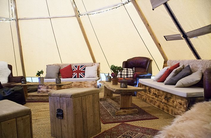 Tipi Chill Out Zone
