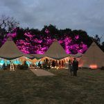 Tipi Tent Hire in Suffolk