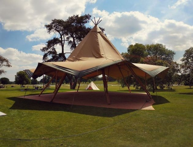 Italian Job Tipi Hire