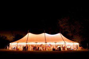 Sailcloth Tent Hire