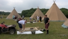 Tipi Hire - Rightmove Summer Party-49