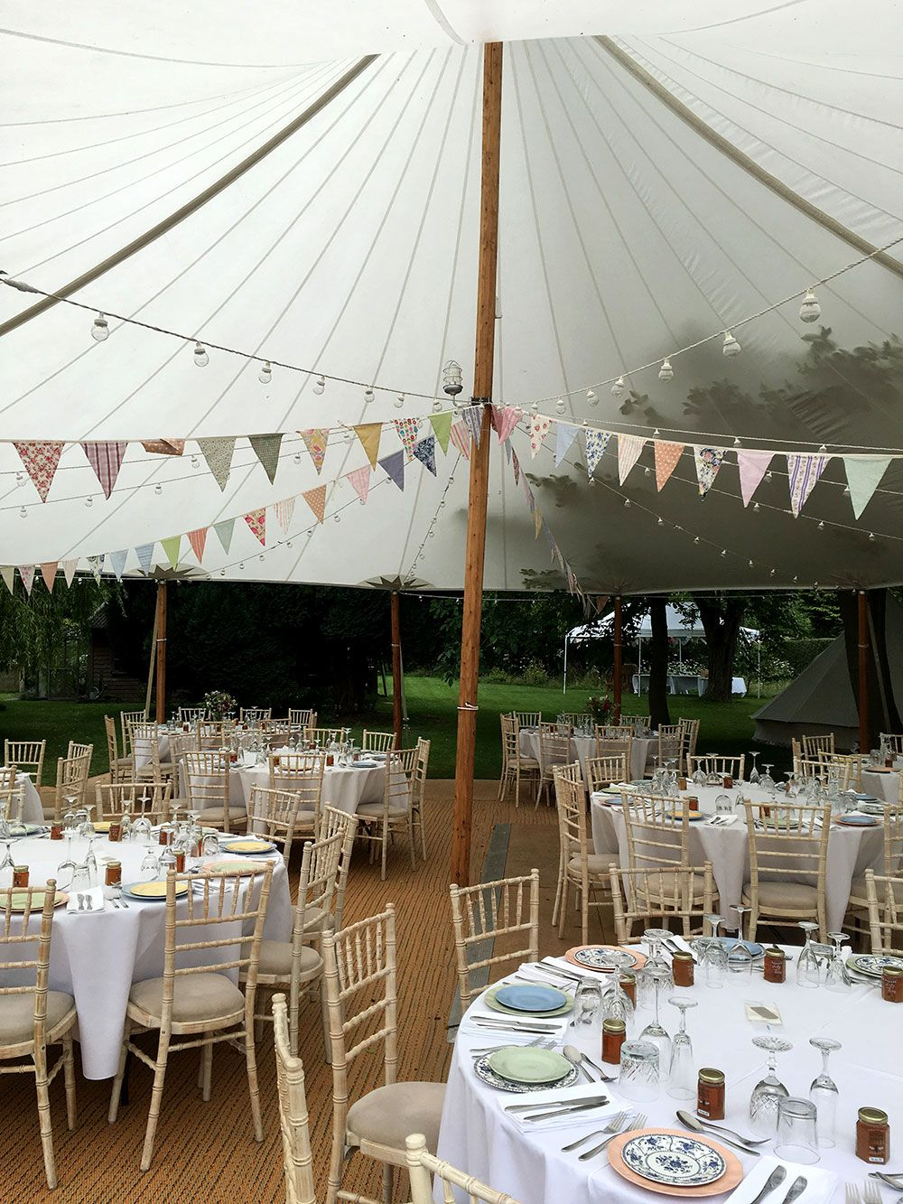 Sailcloth Tent Hire