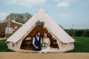 Bridal Tent Glamping