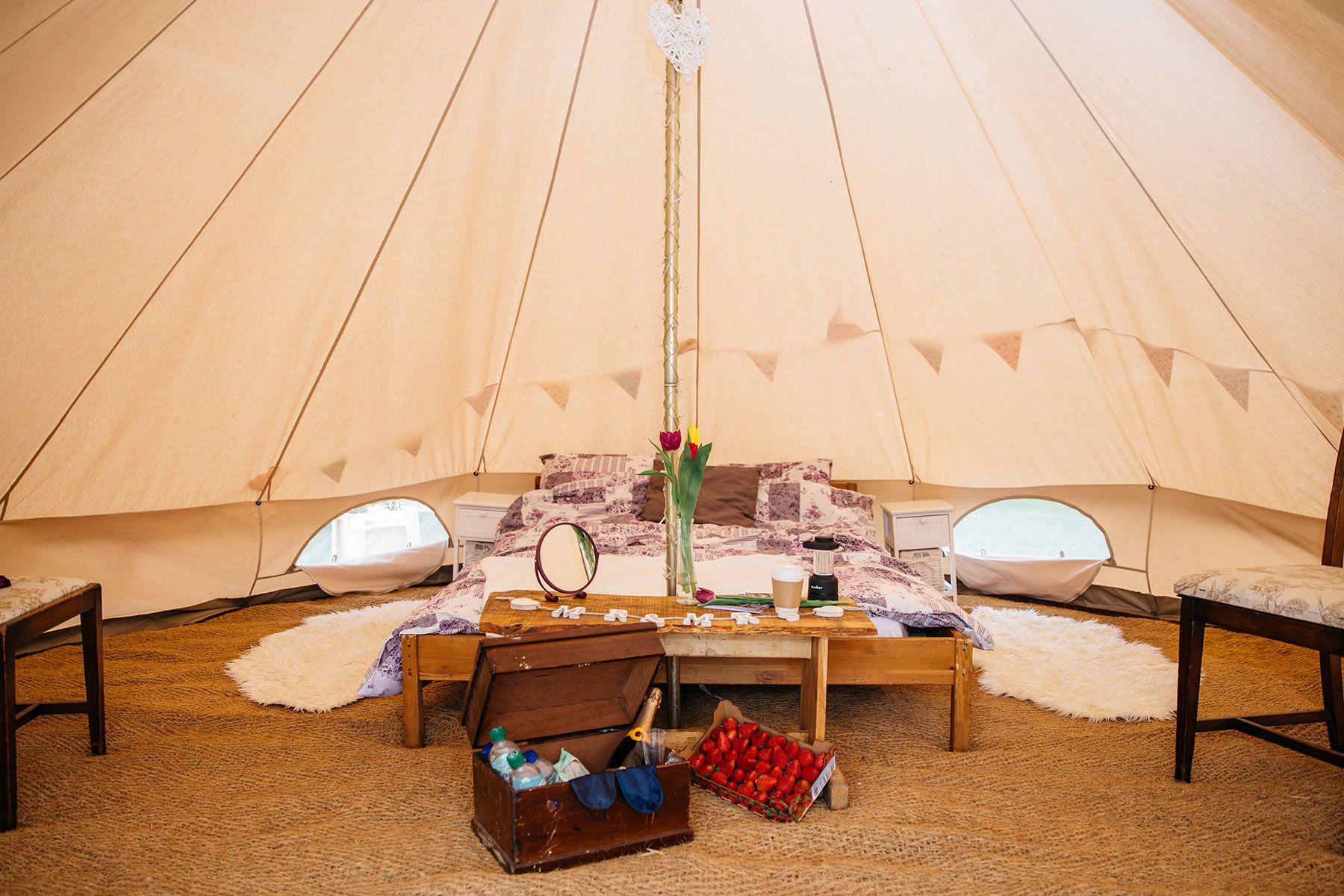 Bridal Tent Interior