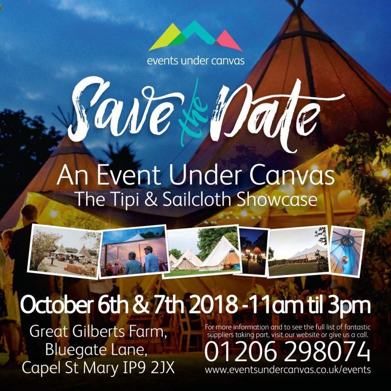 Tipi & Sailcloth Showcase October