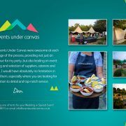 Tipi Hire Review Graphic
