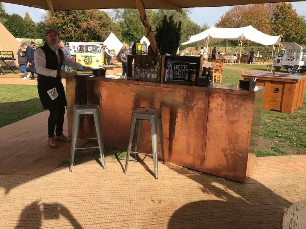 Our copper bar is available for hire